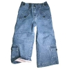 [LEAP]Baby girl's flare jeans styling, adjustable waist(child garment,kid wear)