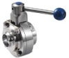 Sanitation Butterfly-Type Ball Valve