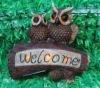 Polyresin Crafts,Solar Owl,Solar