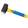 German type stoning hammer with colour plastic-coating handle