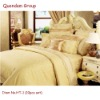 10pcs cotton bedding set with bed sheet, pillowslip, quilt cover