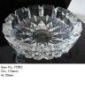 Crystal glass ash tray JLYG02