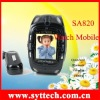 SA820+Watch Phone+130-Mega-pixel camera+Bluetooth+GSM