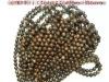 Gold Coffee Stone jewelry