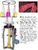 scarf knitting machine,shawl knit machine,knitting scarf machinery,knitting machine