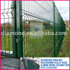 PVC Coated & Galvanized Welded Wire Mesh Fence Panel