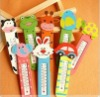wooden children Thermometer glass thermometer