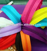 nylon lang chain zippers