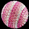 Wholesale rhinestone ball beads with any sizes