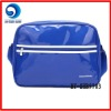 fashion shiny pvc trendy shoulder bag for boys