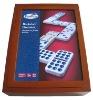 Color Wooden Dominoes, Wooden Game Domino