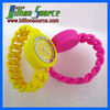 Stylish silicone girls hand chain watch