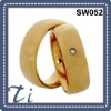 High quality stainless steel latest gold ring designs