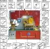 hydraulic ironworker,Q35Y series hydraulic punching and shearing machine