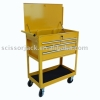 580 LB. CAPACITY FOUR DRAWER ROLLER CART 7407 Trolley