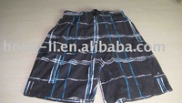 Black men's Beach Shorts
