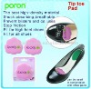 Flower-shaped PORON Tip Toe Pad Insole