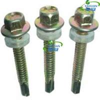 DIN 7504 Hex Head Self Driling Screw with EPDM Washer