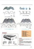 color steel roofing