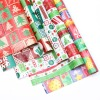 2012 hot sale christmas gift wrapping art paper