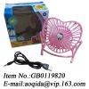 plastic mini fan toy fan with usb line