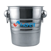 promotional cheap beer Bucket stainless steel ice bucket