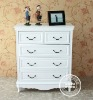 Rustic painted wooden cabinet