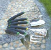 stainless steel garden tool set