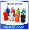 Mini USB Car Charger switch for samsung galaxy tab