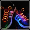 led shoelace with logo for carnival