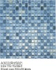 Glass mosaic for swimming pool tile SA302 mix colour