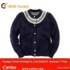 100% Cotton Crew Neck Cardigans For Girl