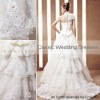 CONIEFOX Customized high quality bridal dress trailer D603