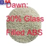 30% glass filled natural abs plastic