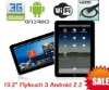 1PCS 10.2'' Superpad 3.0 X220 Laptop Android 2.2 Flytouch 3 1.2Ghz 512MB 4GB WIFI GPS