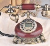 resin, man-made wood antique decorative telephone