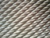 Hot dipped galvanized steel wire rope for cradle 4x31SW+FC