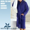 wholesale bathrobe in super soft coral fleece