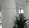 Pure White Crystallized Glass Panel ( Curve Panel )