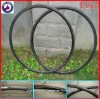 carbon bicycle tubular rim 24mm racing bike