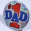 Metal Tinplate Plastic Round Pin Badge