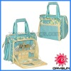 Personalized picnic storage with lunch totes