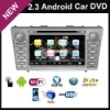 In Dash DVD Player car dvd car pc On Android 2.3 OS For Camry 2007 2008 2009 2010 2011