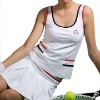 Supplex and cotton tennis wear