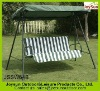 Outdoor furniture patio swing chair with 3 seats