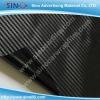 Black 3D carbon fiber sticker vinyl film for car wrapping 1.27x30m