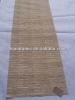 hand-made natural ramie fabric table runner table mat