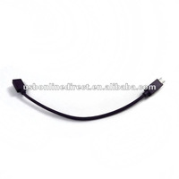 micro USB female to S3 male CABLE deep 23cm black