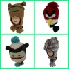 knitting patterns animal hats LCH021