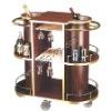 Shentop wodden wine bar trolley |Wine trolley